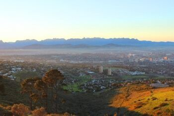 Paarl from Tygerberg Hills, Paarl, Cape Winelands